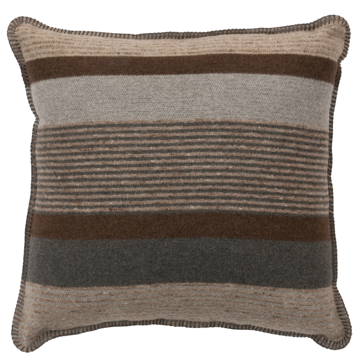 Sandstone Striped Pillow