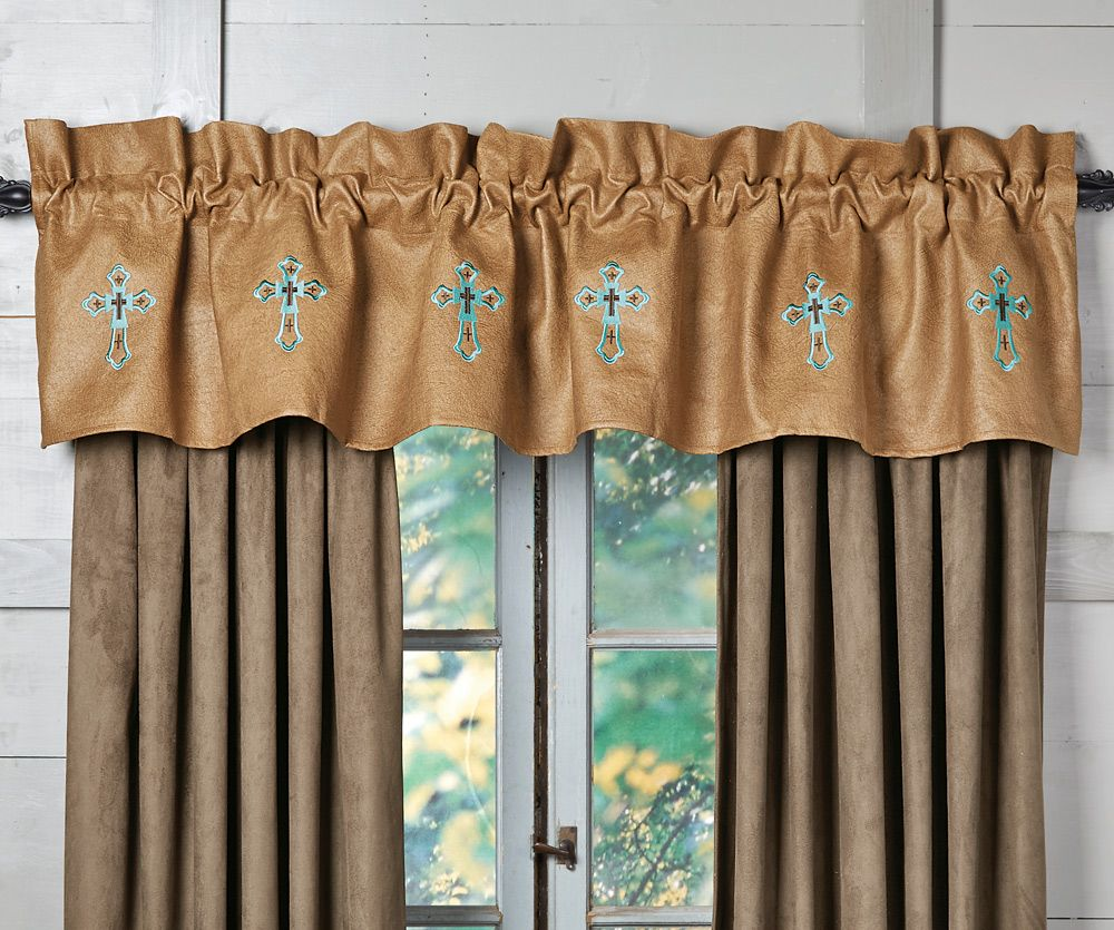 Santa Cruz Turquoise Valance - OUT OF STOCK - ETA 1/27/2021