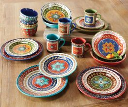 Santa Fe Dinnerware Collection