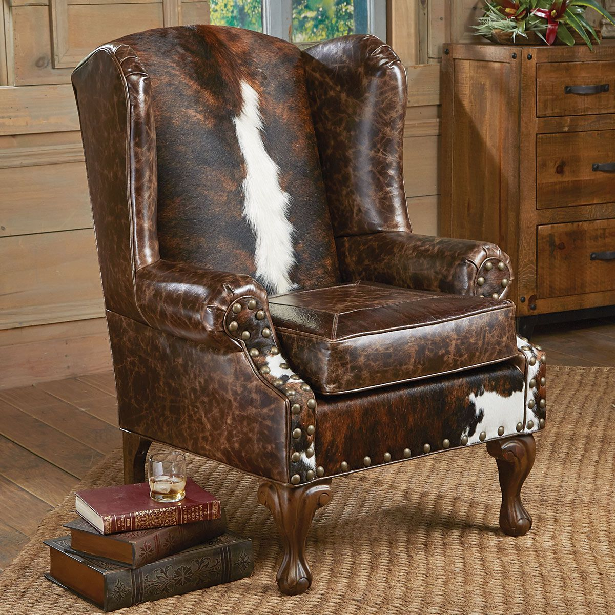 Santa Fe Wing Back Chair