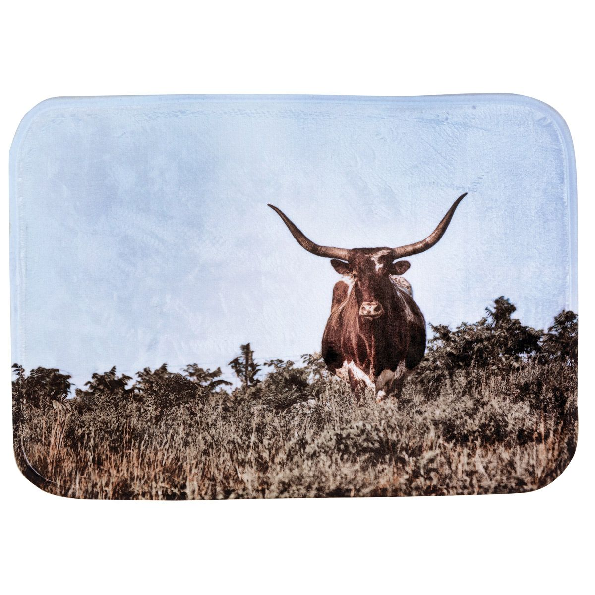 Scenic Steer Bath Mat