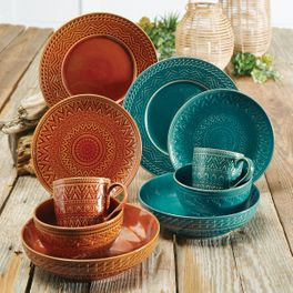 Sedona Sunrise Dinnerware Collection