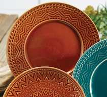 Sedona Sunrise Terracotta Dinner Plate