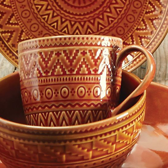 Sedona Sunrise Terracotta Mug
