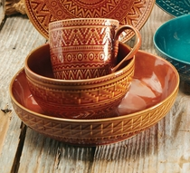Sedona Sunrise Terracotta Soup Bowl