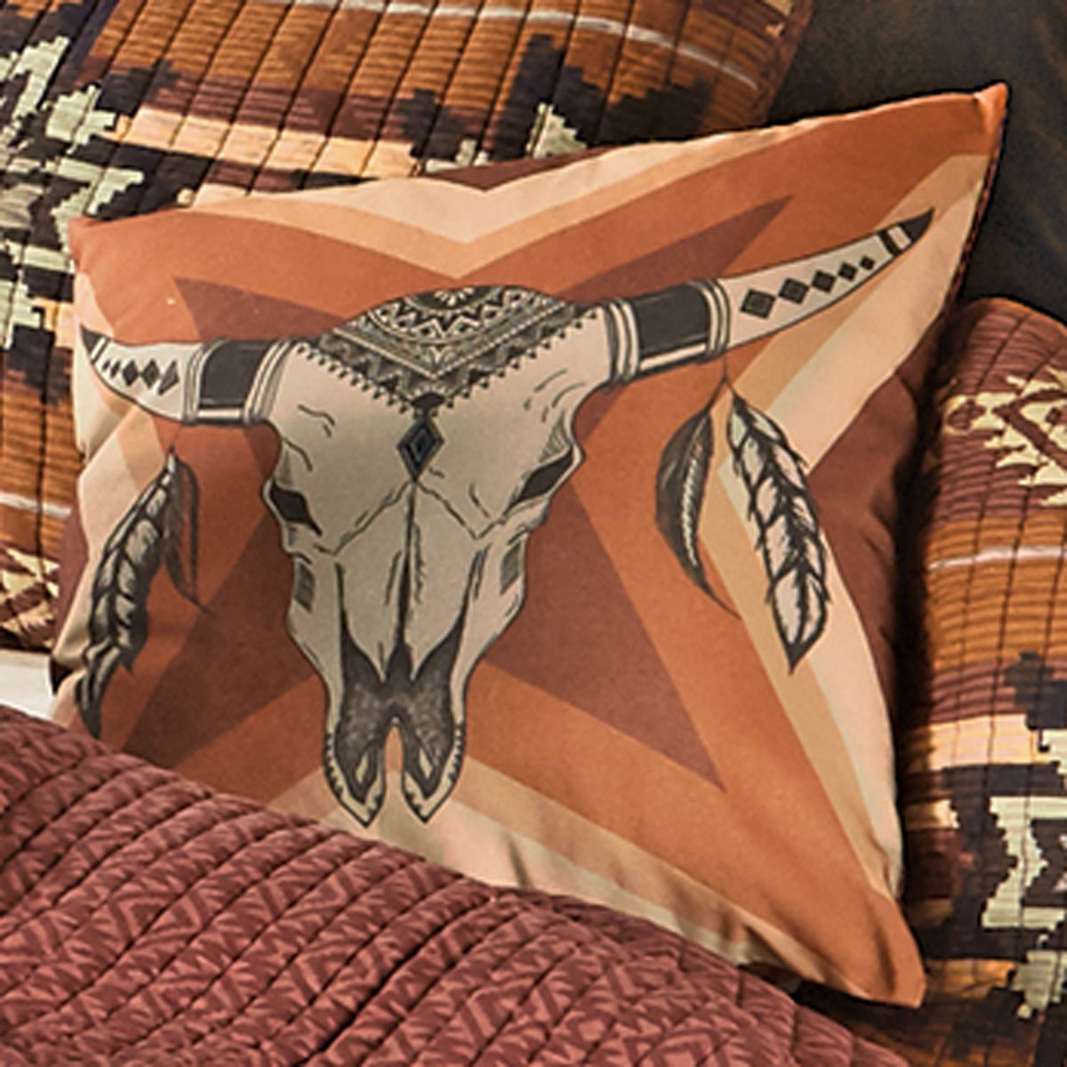 Sedona Sunset Accent Pillow