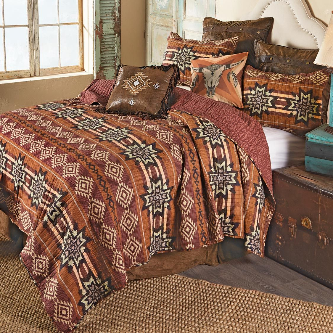 Sedona Sunset Quilt Set - King