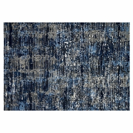 Selina Midnight & Gray Rug Collection