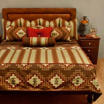Seneca Reversible Coverlet - Cal King