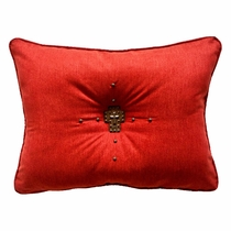 Seneca Rouge Pillow - 14 x 20