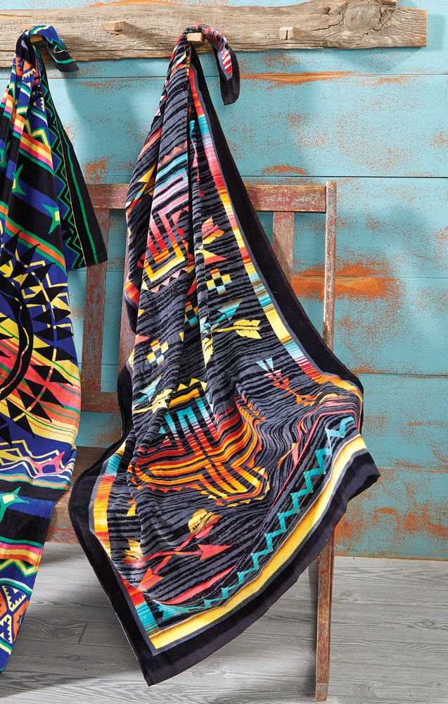 Serape Cross & Arrows Oversized Towel