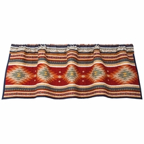 Serape Diamonds Valance