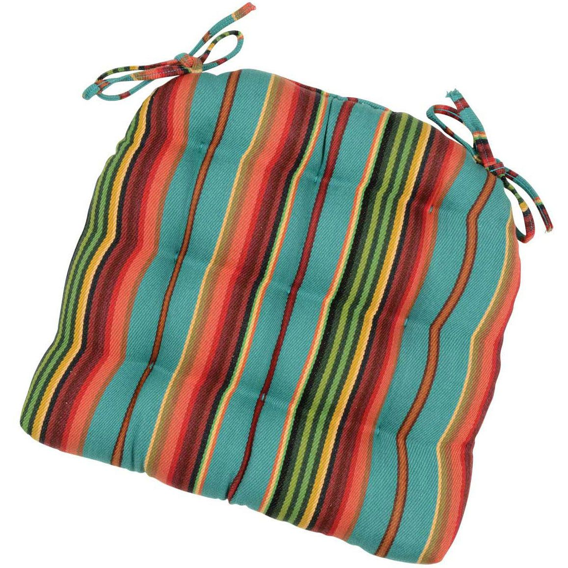 Serape Sunrise Chair Pad