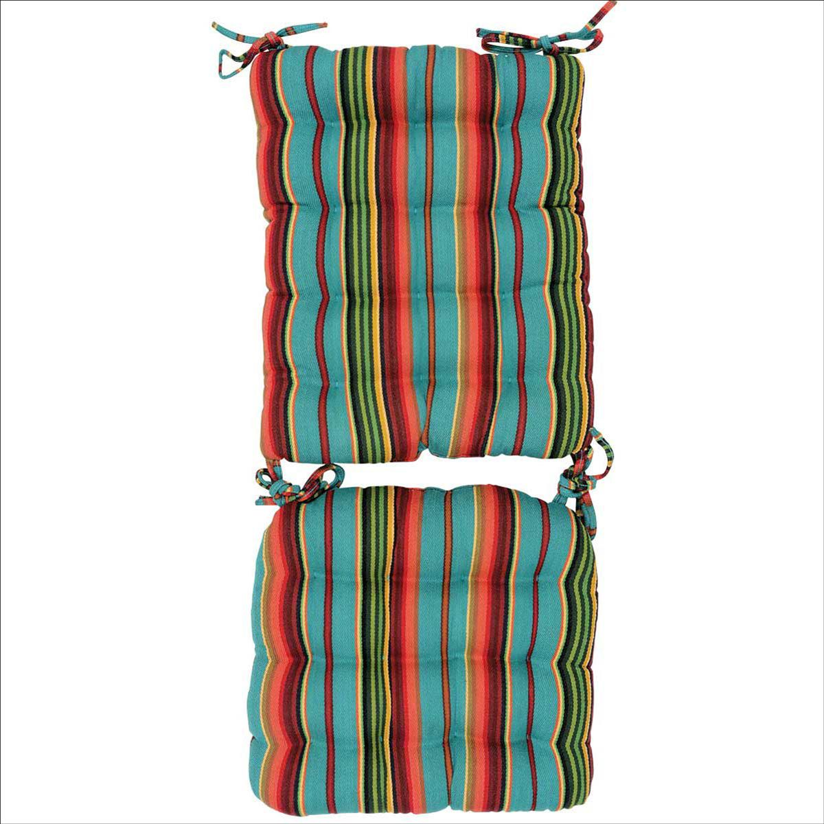 Serape Sunrise Rocker Pad Set - CLEARANCE