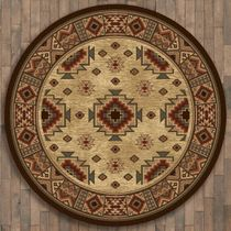 Settlers Retreat Rug - 11 Ft. Round