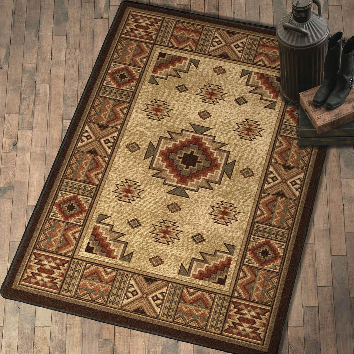Settlers Retreat Rug - 5 x 8