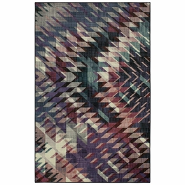 Shards Plum Rug Collection