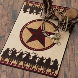 Sheriff's Posse Rug Collection