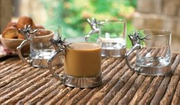 Short Stag Glass Set (set of 4)