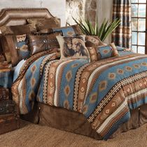 Desert Arrow Bed Set - Full/Queen