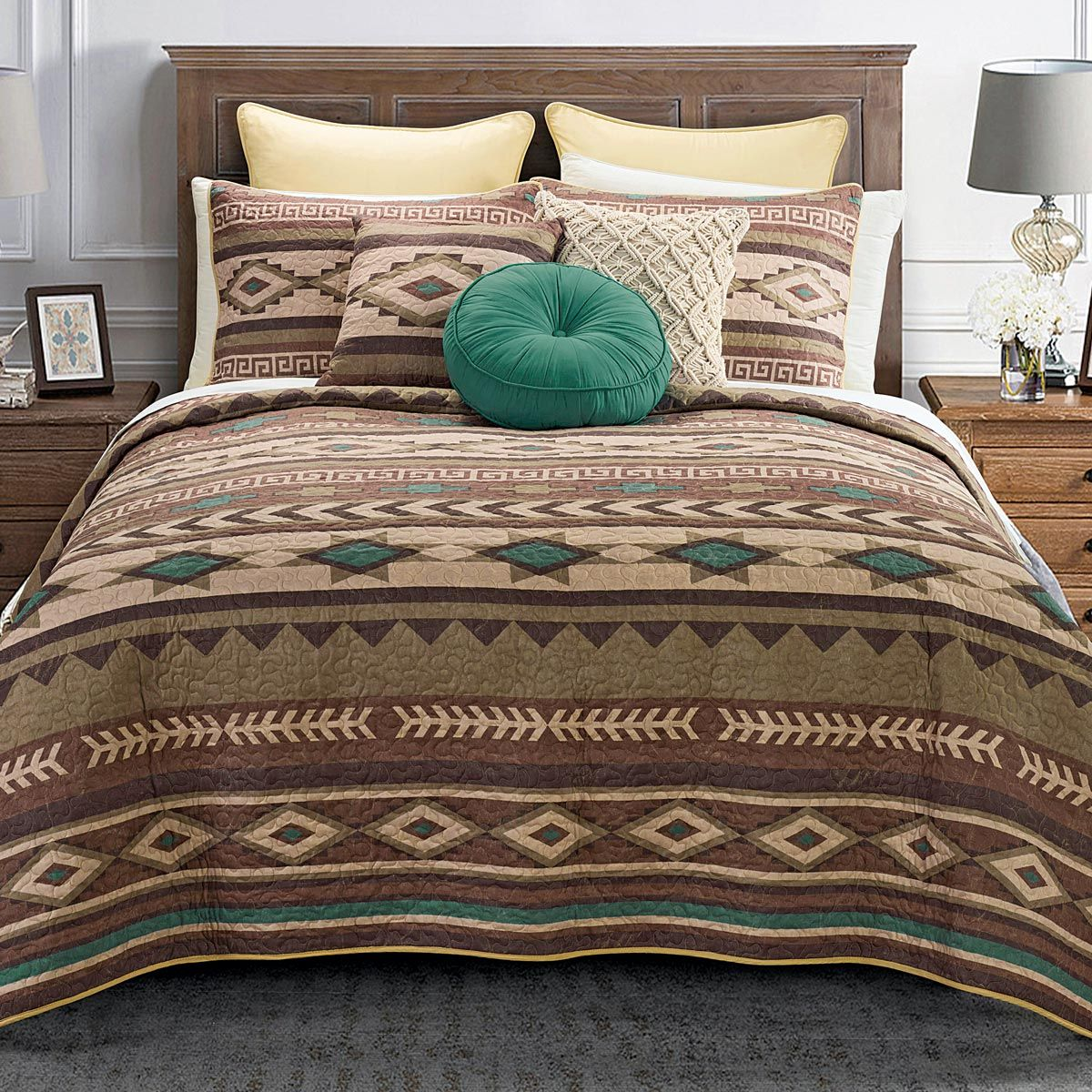 Sierra Canyon Quilt Set - Twin