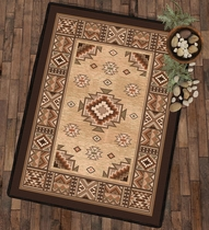 Sierra Canyon Tan Rug - 5 x 8