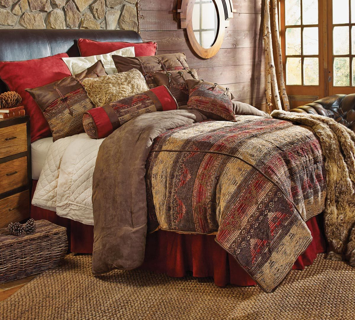Sierra Chenille Suede Bed Set - Full