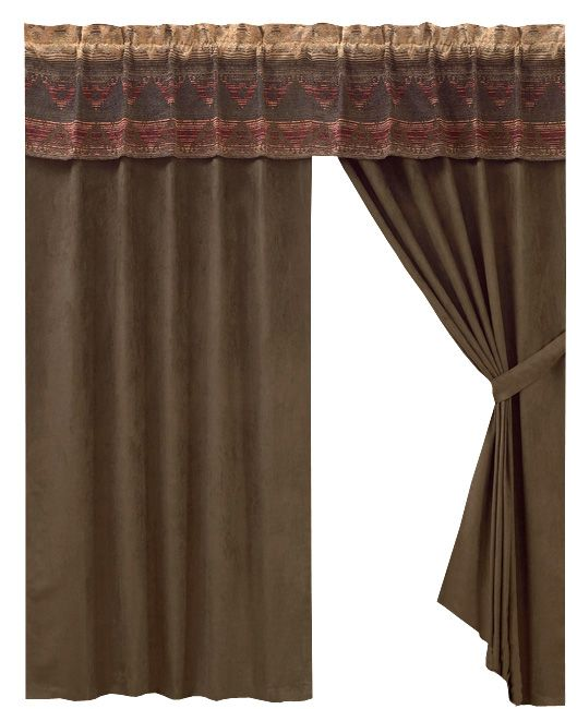 Sierra Chenille Suede Drapes