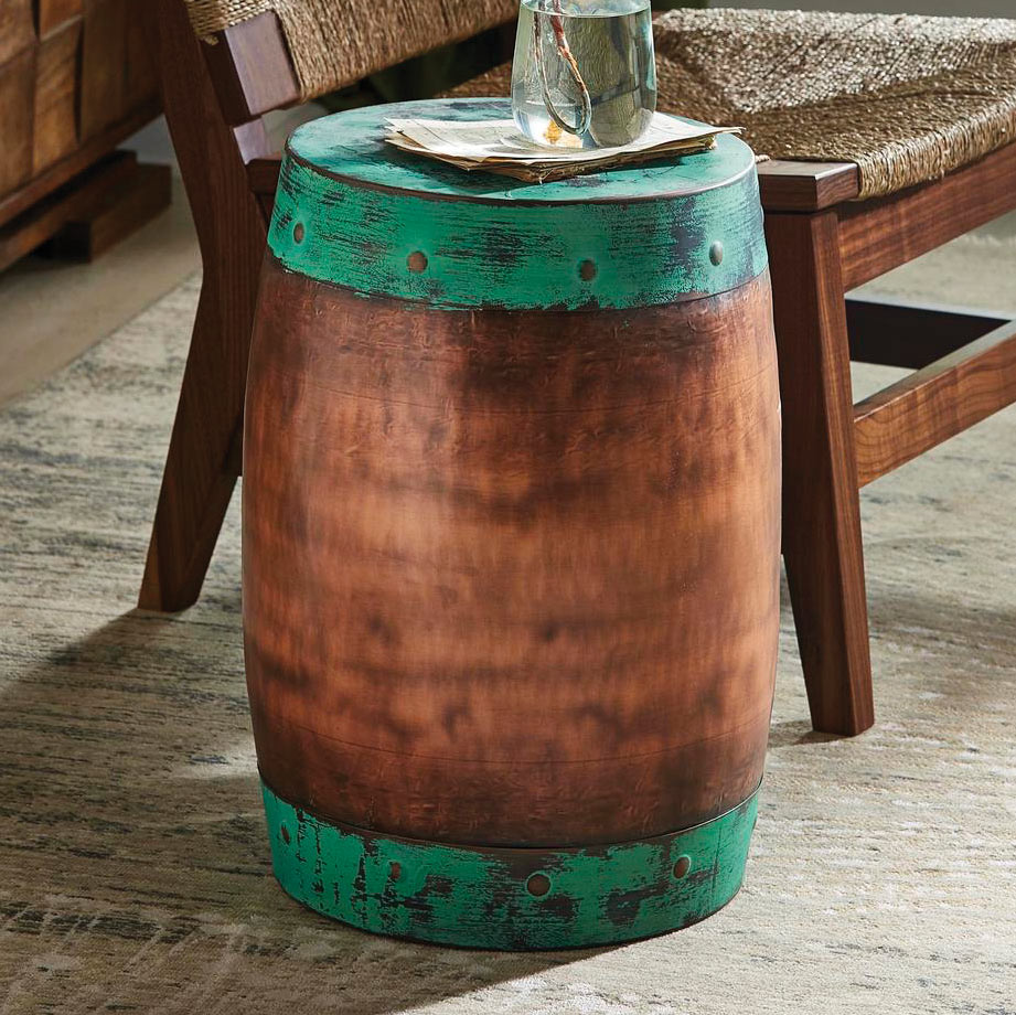 Sierra Copper Plated Stool