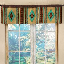 Sierra Vista Woven Window Valance