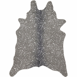Silver Ash Faux Cowhide Rug Collection