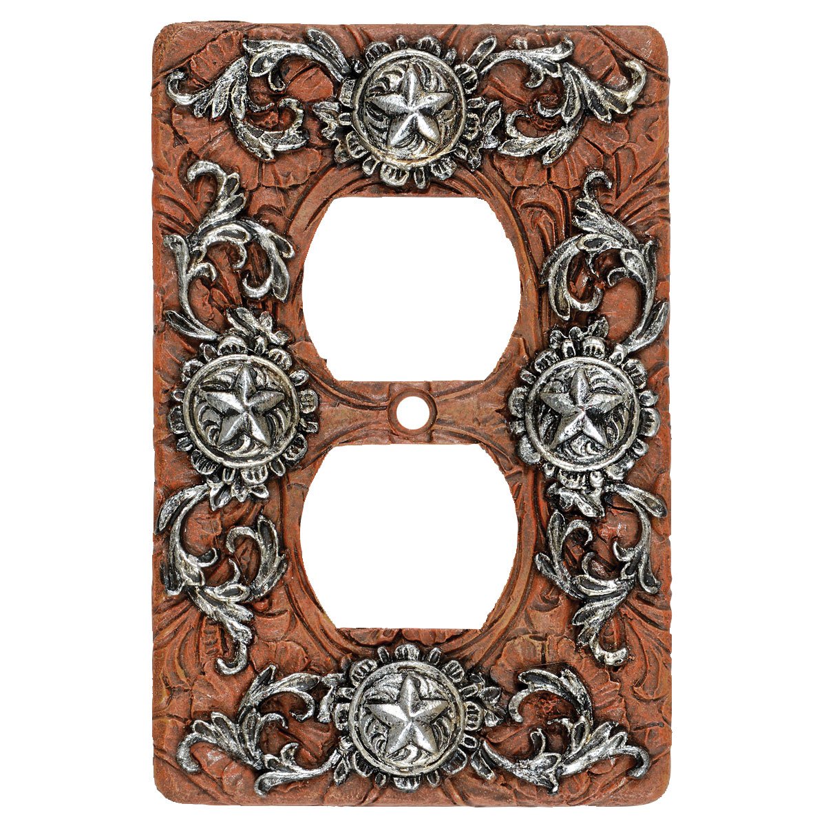 Silver Stars Outlet Cover - CLEARANCE