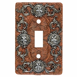 Silver Stars Switch Covers - CLEARANCE
