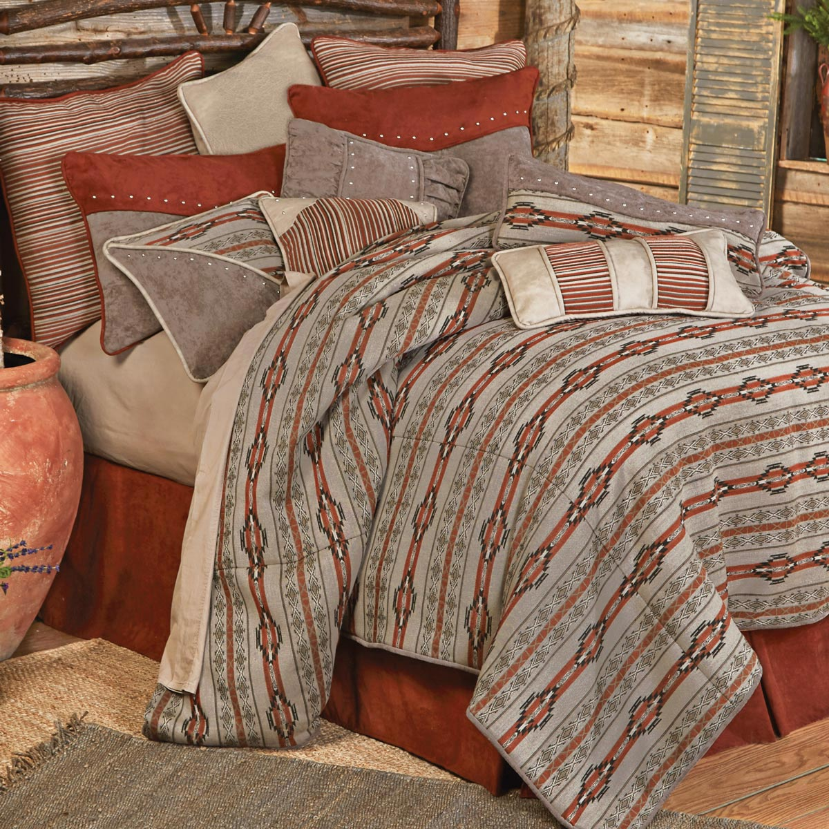 Silverado Bed Set - Super Queen