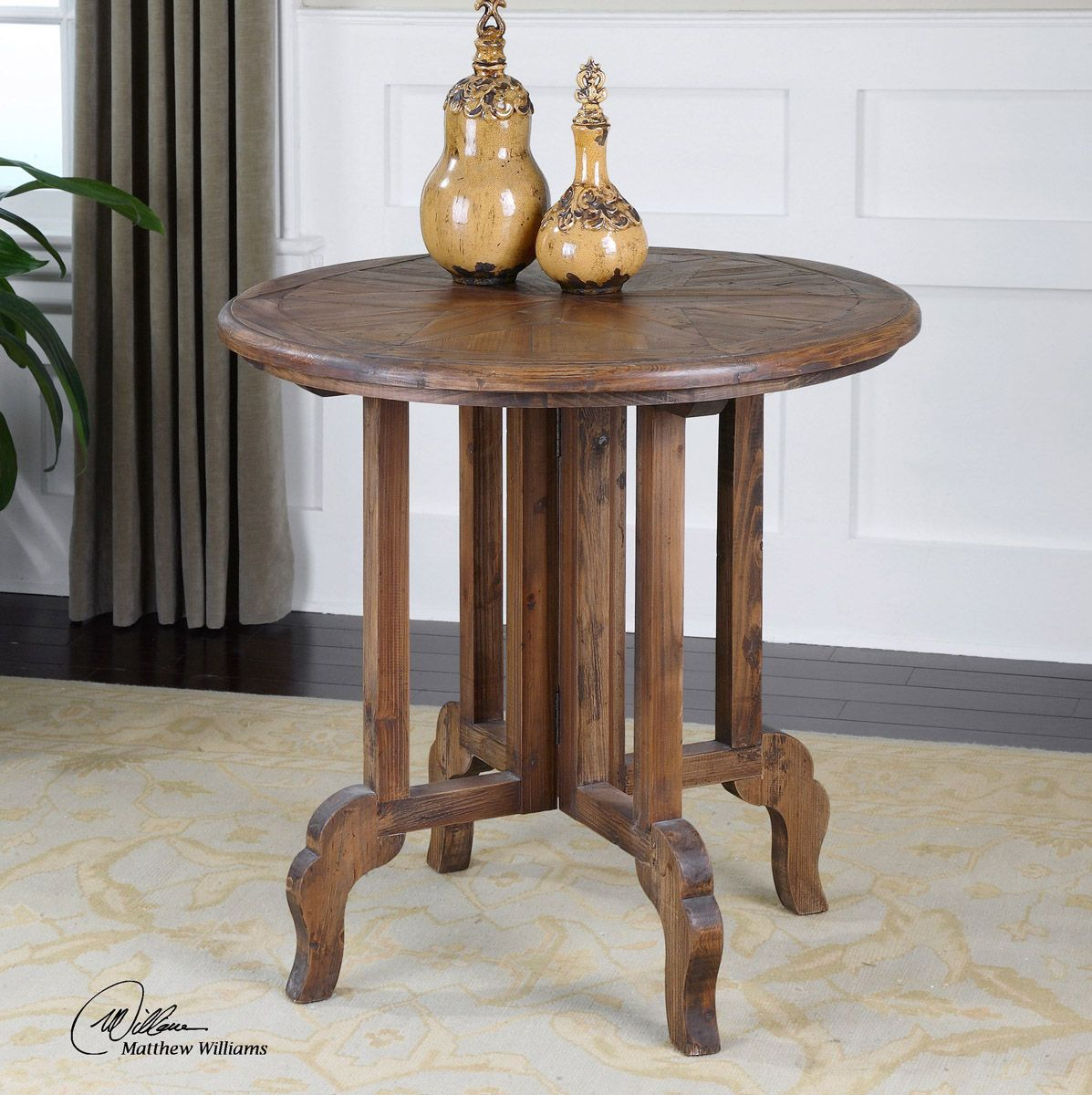 Six-Pointed Star Accent Table