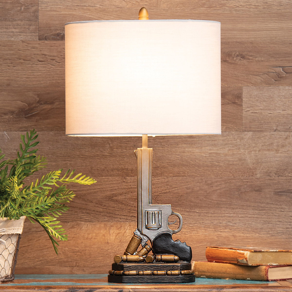 Six Shooter Table Lamp