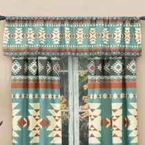 Sky Diamonds Valance