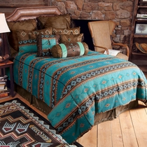 Skystone Turquoise Desert Bed Set - King