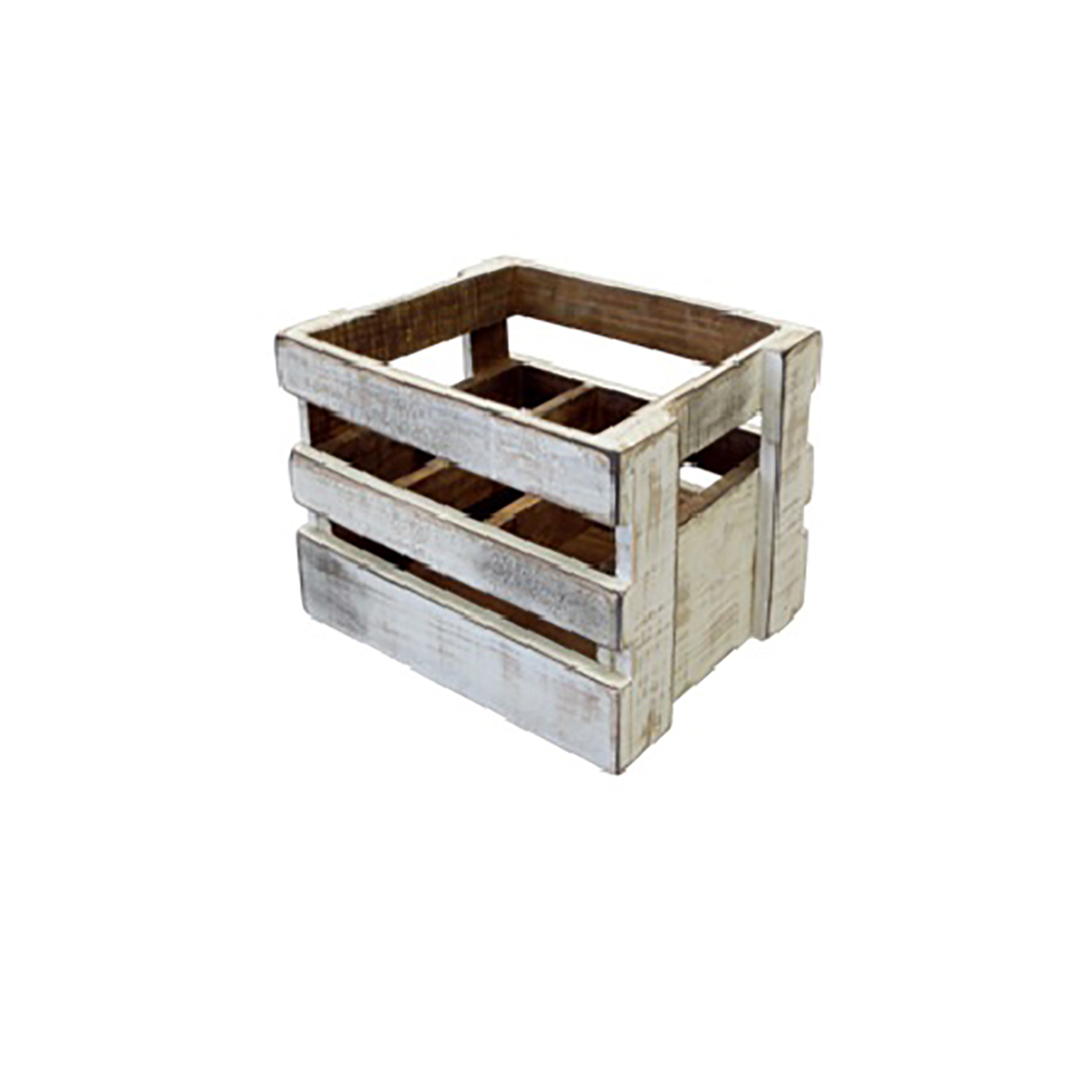 Slatted Wood Crate