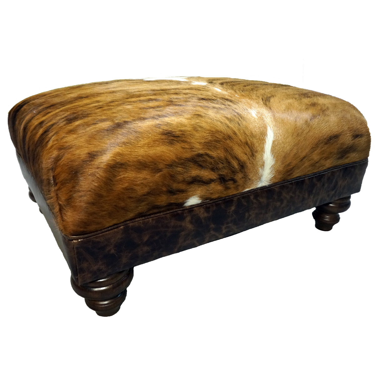 Small Roll Top Ottoman