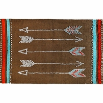 Socorro Arrows Rug - 2 x 3