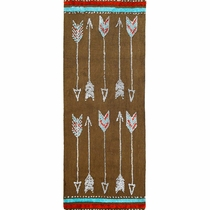 Socorro Arrows Rug - 2 x 5