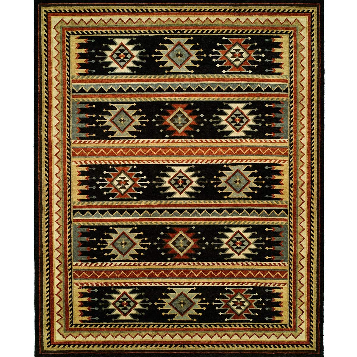 Socorro Diamonds Rug - 2 x 3