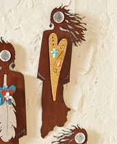 Solid Gold Spirit Woman Wall Art