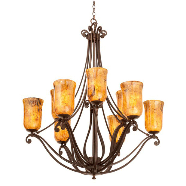 Somerset 9 Light Chandelier