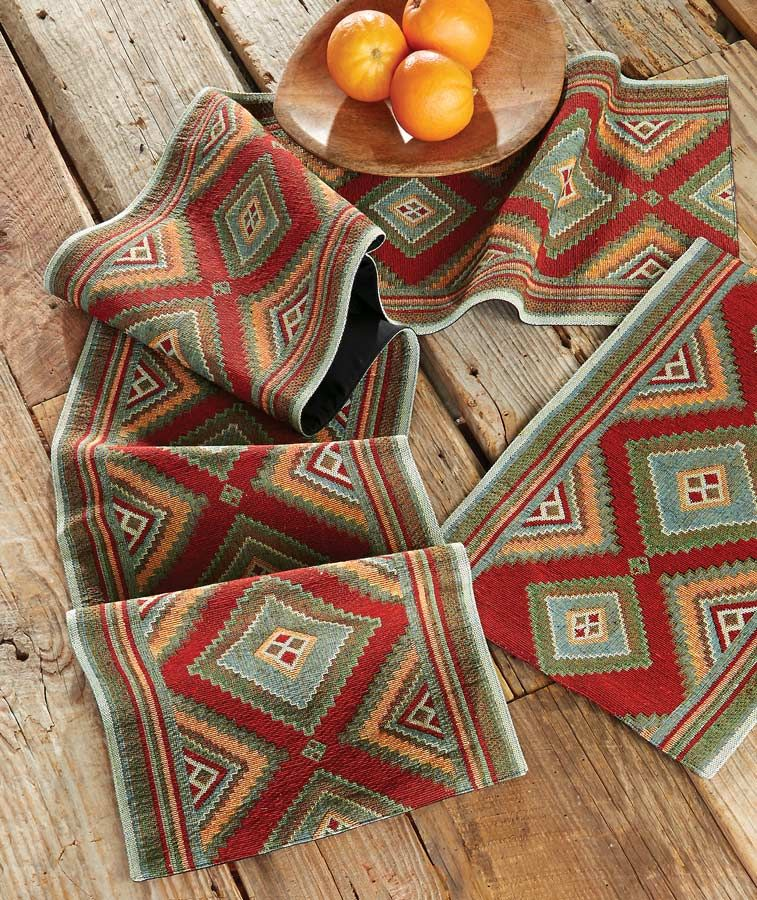 Sonora Diamonds Table Runner - OUT OF STOCK UNTIL 1/1/2021