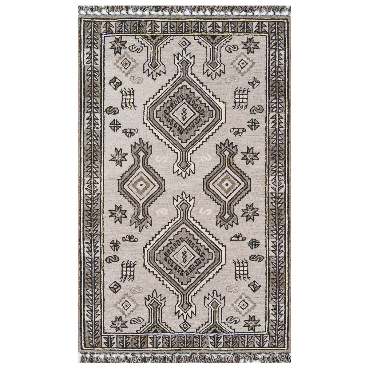 Sonora Gray Rug - 4 x 6