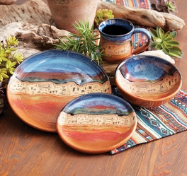 Sonoran Skies Pottery Dinnerware Set (4 pcs)