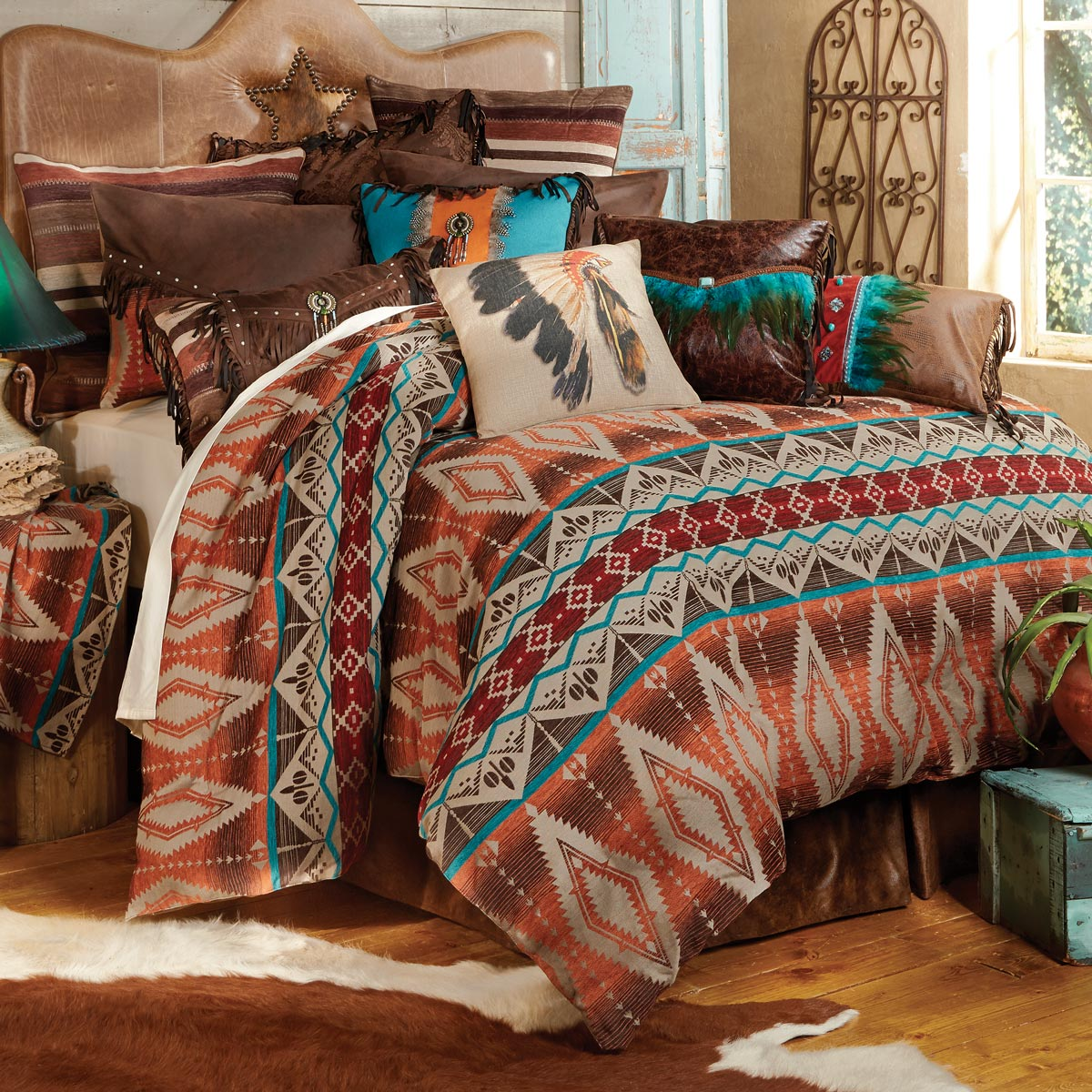 Western King Size Bedding Sets.Sonoran Sky Bed Set King