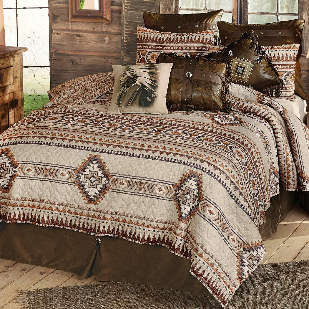 Southern Flare Southwestern Quilt Set - Twin